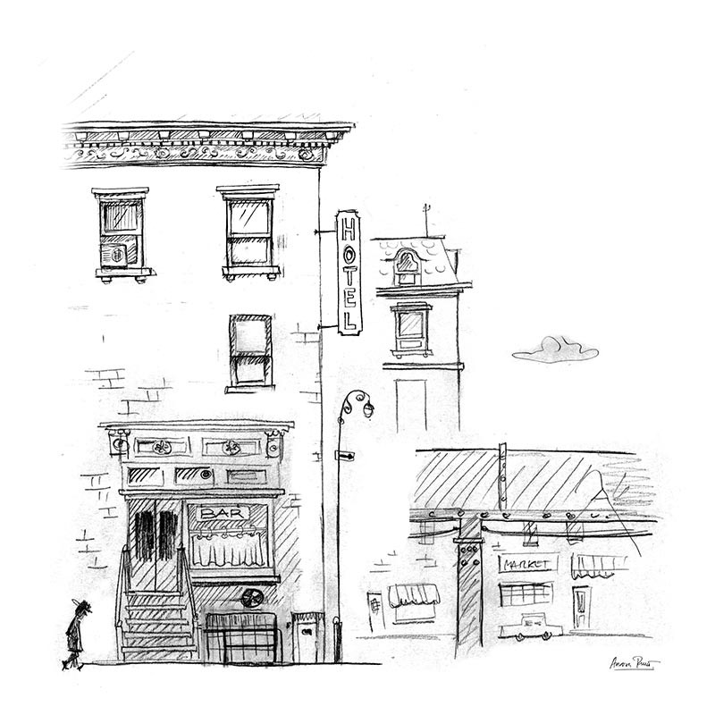 Bar y Motel NY 50s