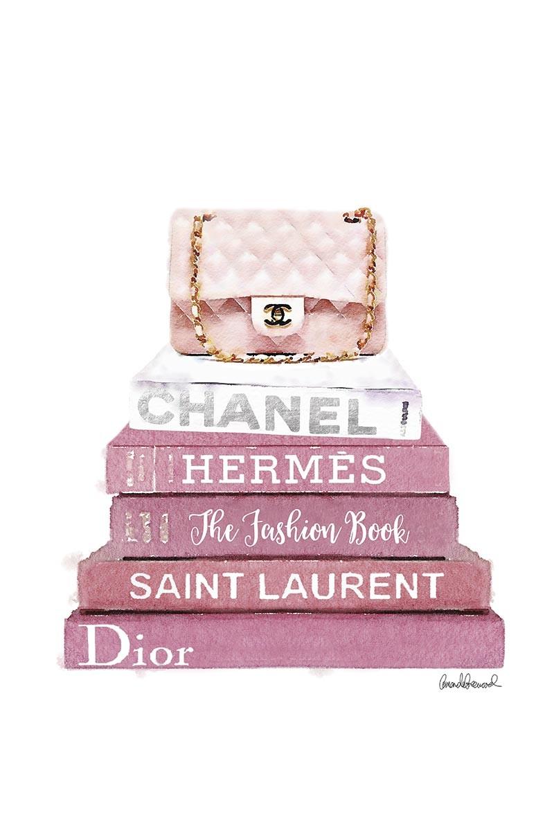Pink Chanel & Books I