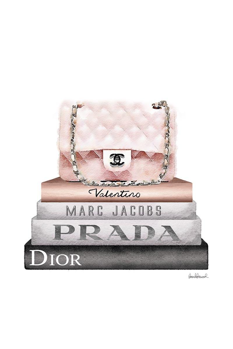 Pink Chanel & Books II