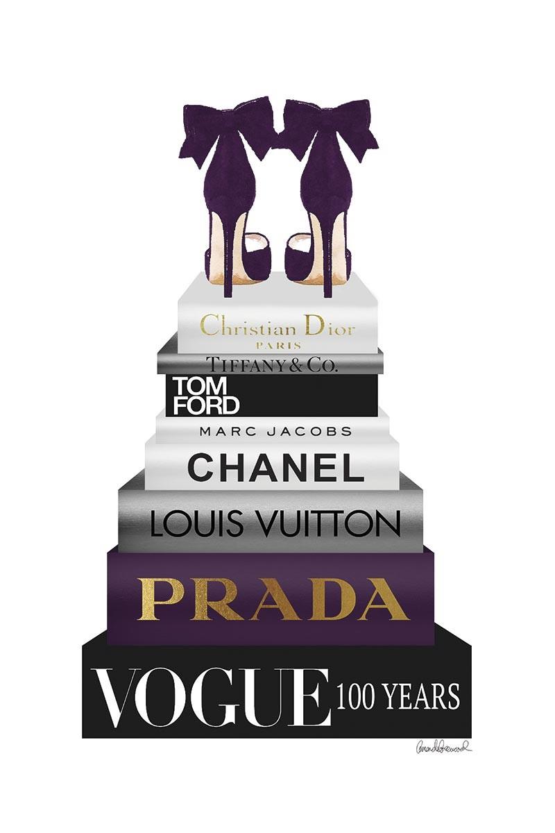 Shoes & Purple Books