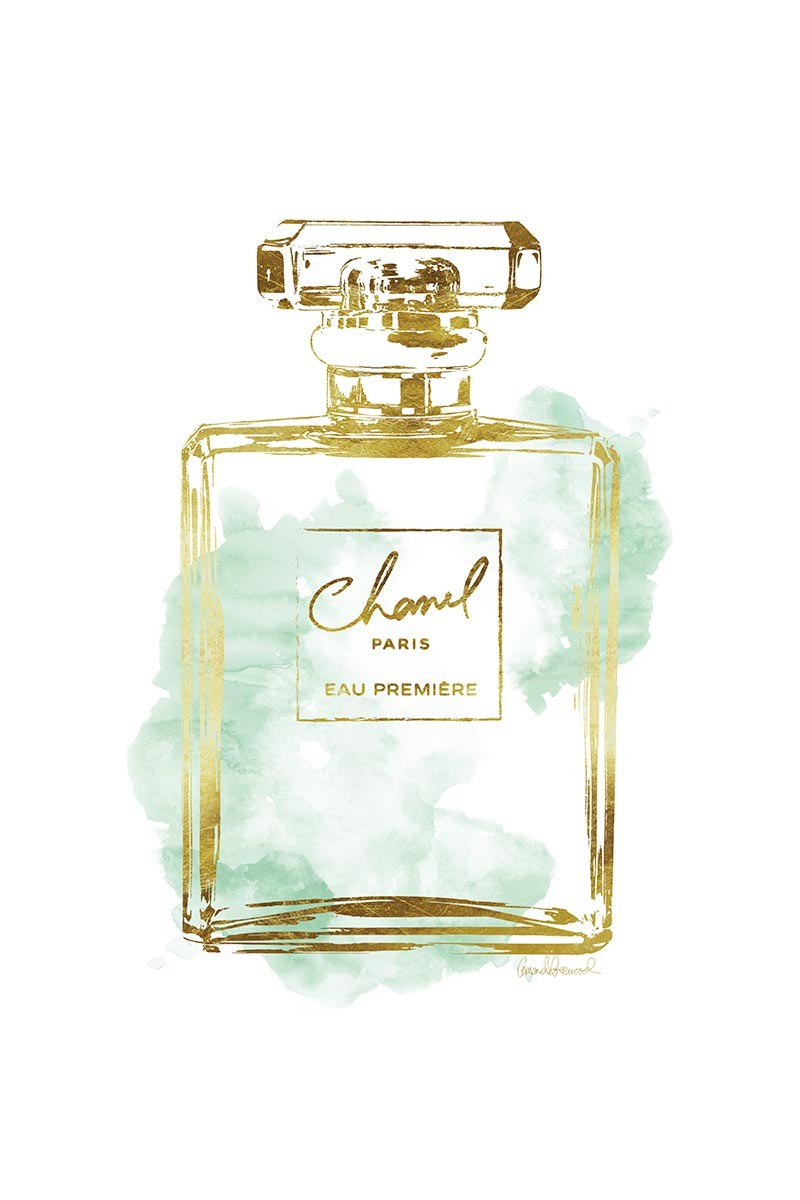 Chanel Parfum Gold & Green