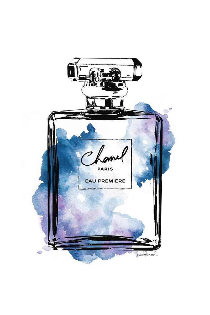Chanel Parfum Black & Purple