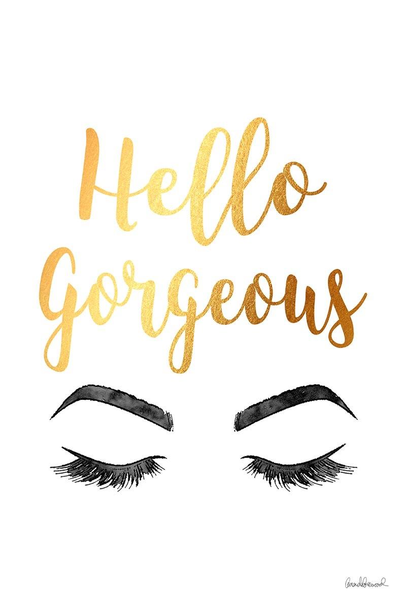 Hello Gergeous Gold