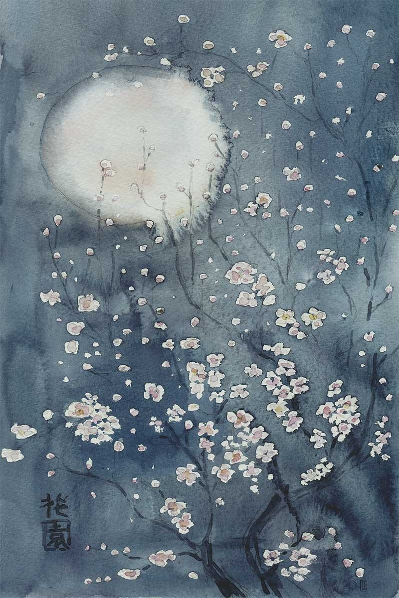 Japan Moon