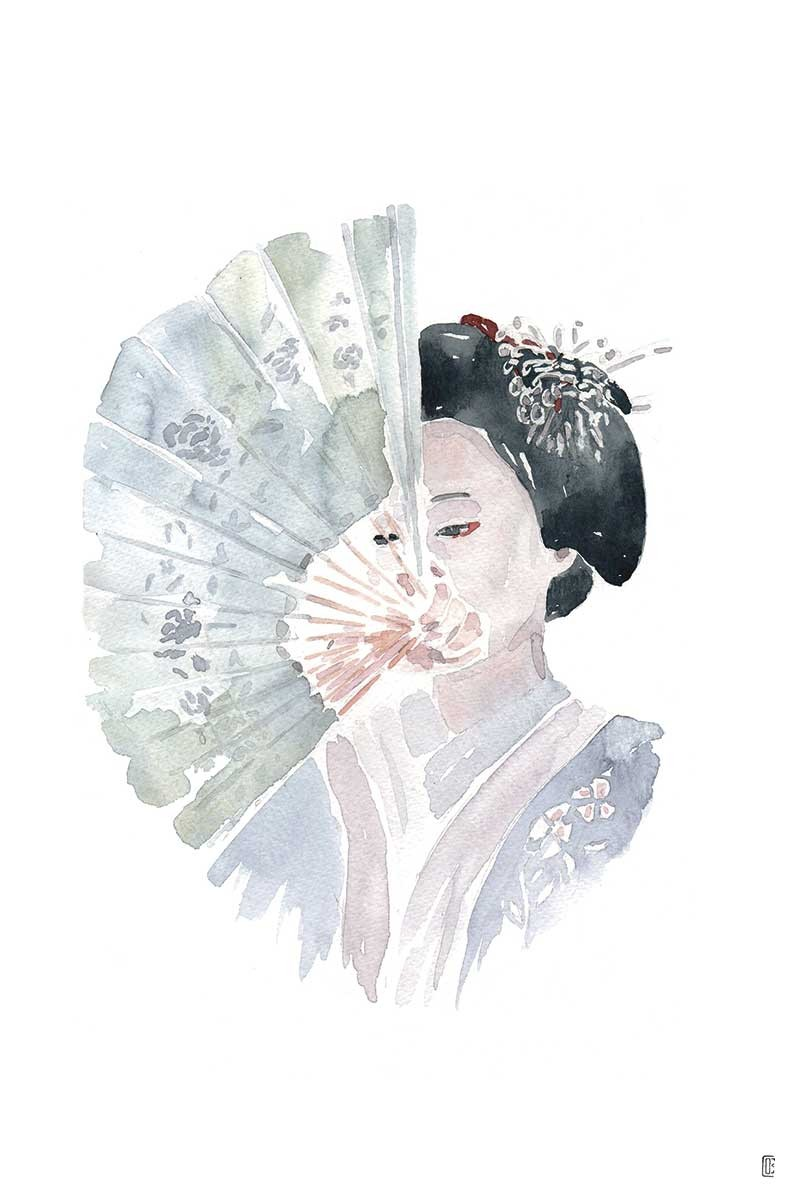 Geisha Abanico