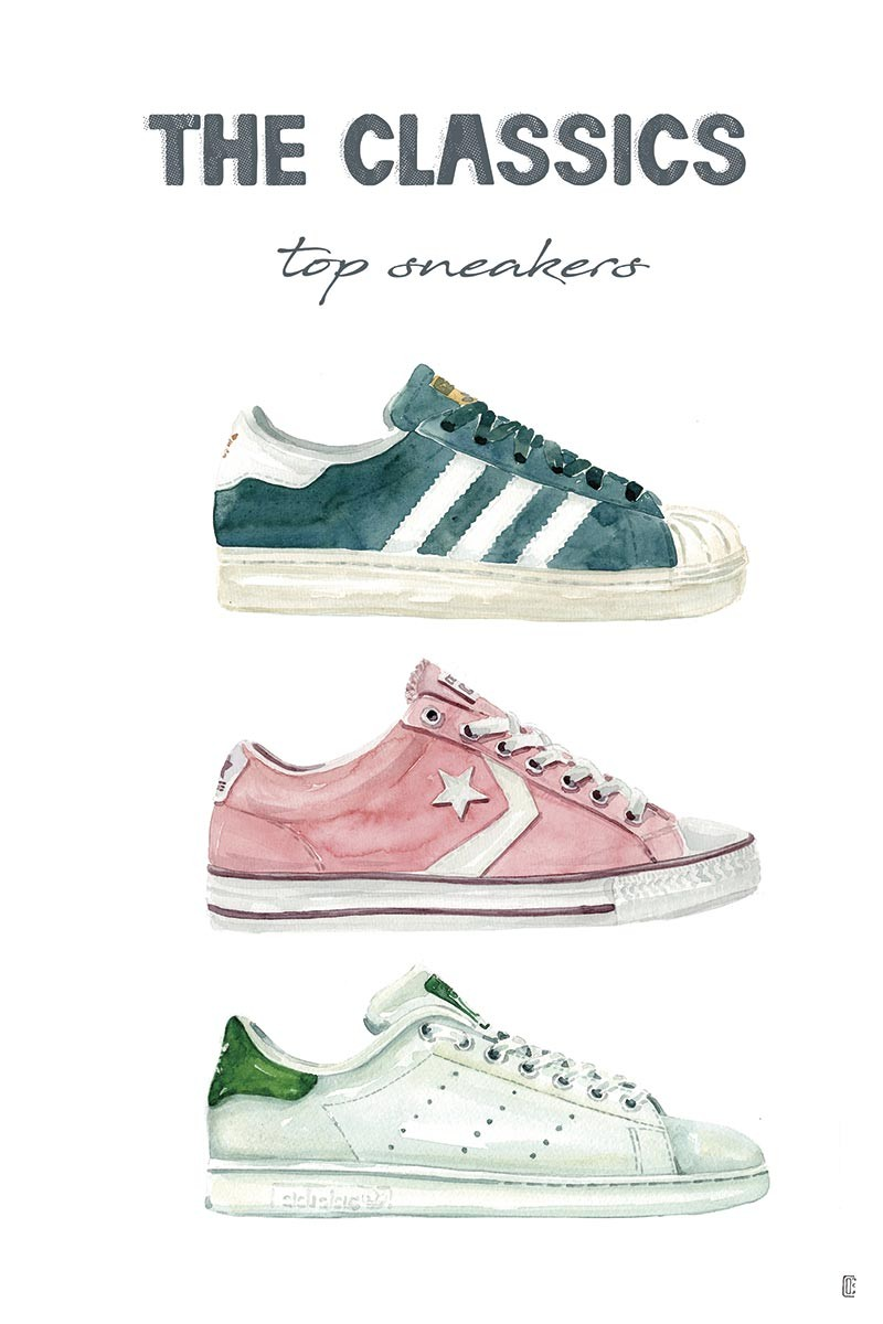 Woman's Sneakers I