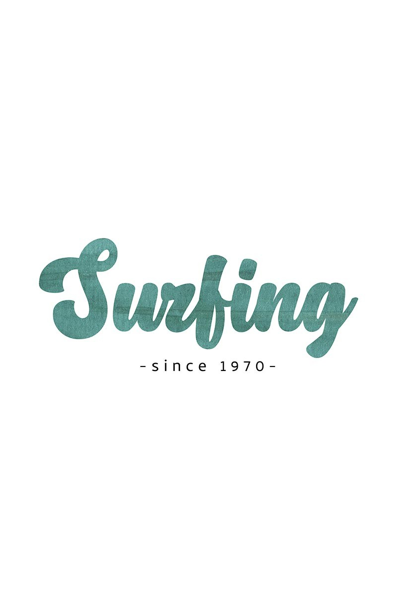 Lettering Surfing