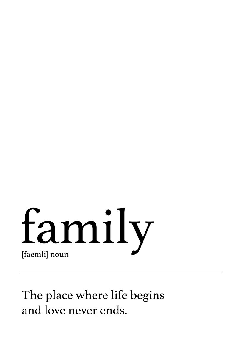 Meaning Family