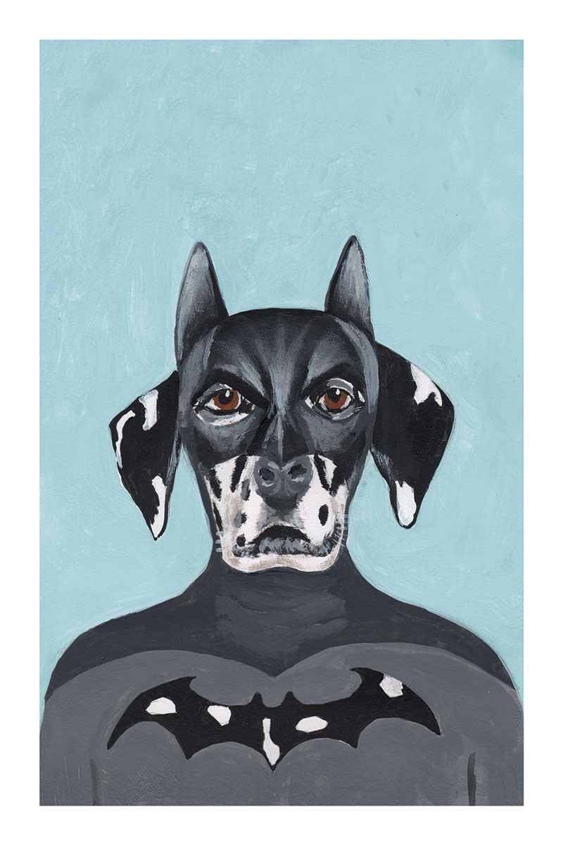Dalmatian Batman