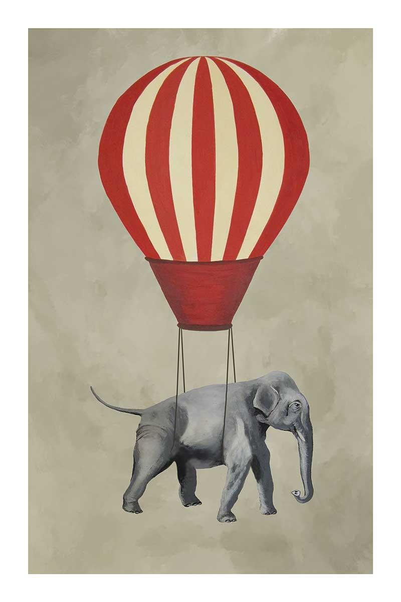 Elephant with Airballon