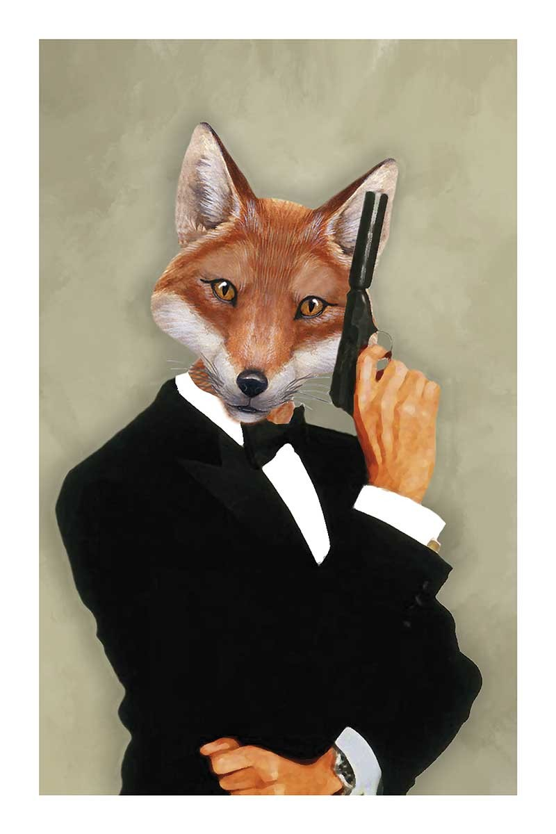 Fox James Bond