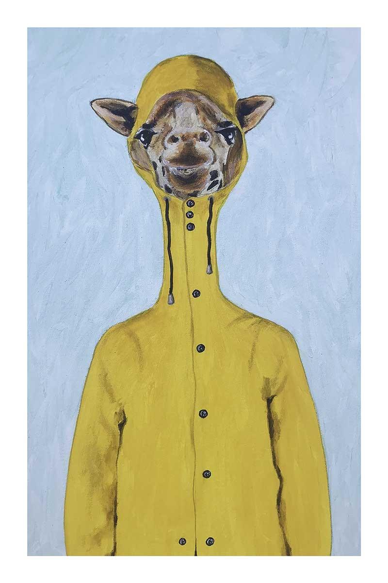 Giraffe Raincoat