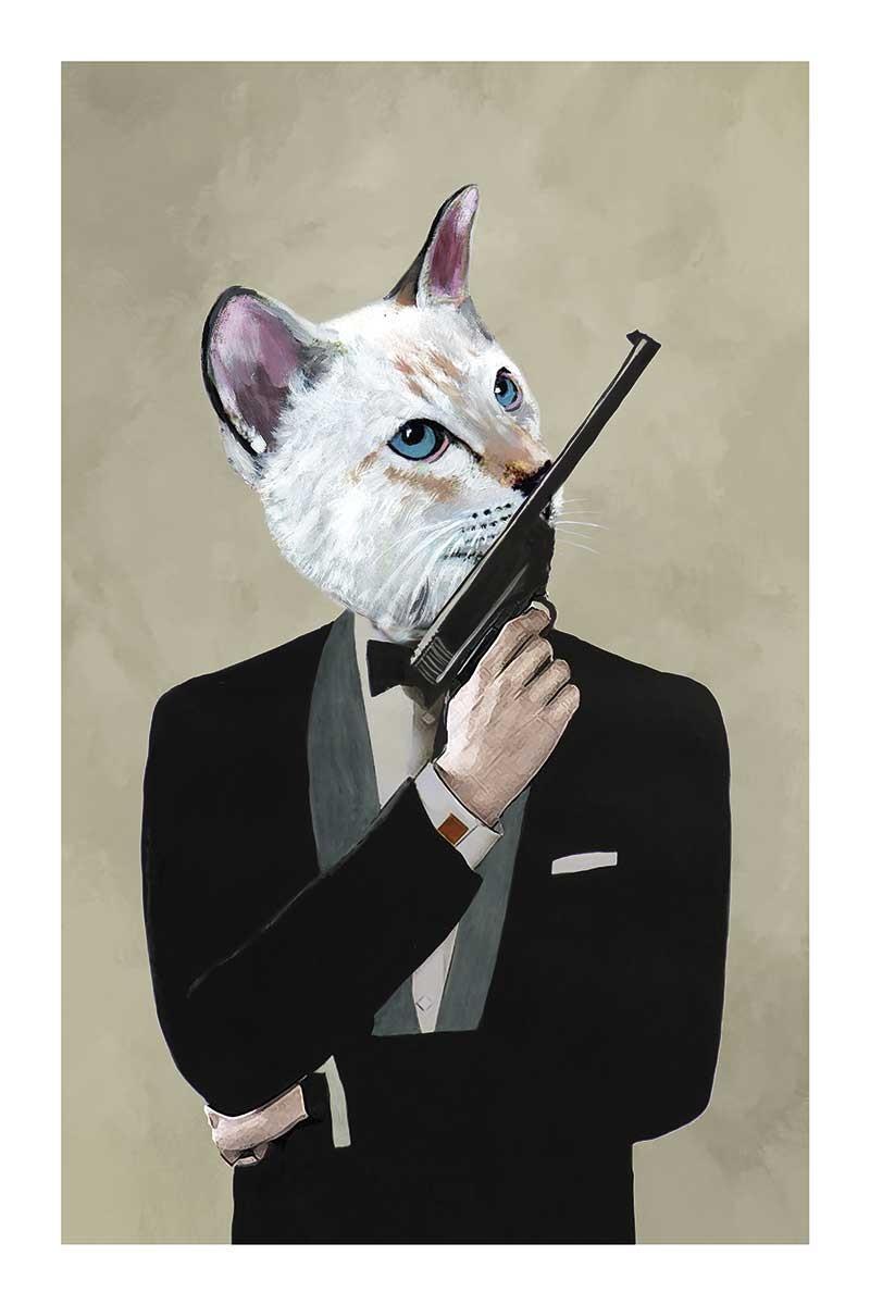 James Bond Cat
