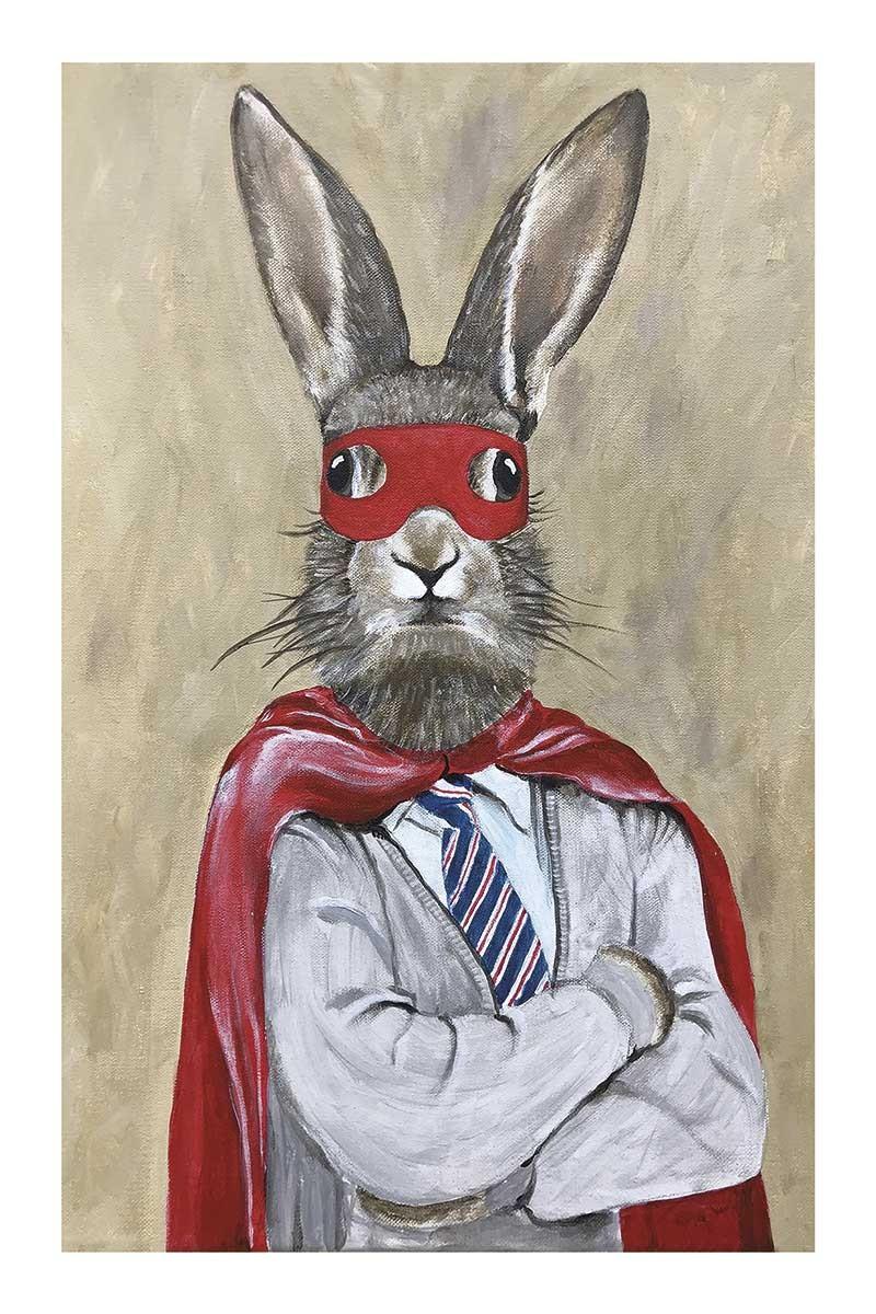 Rabbit Superman