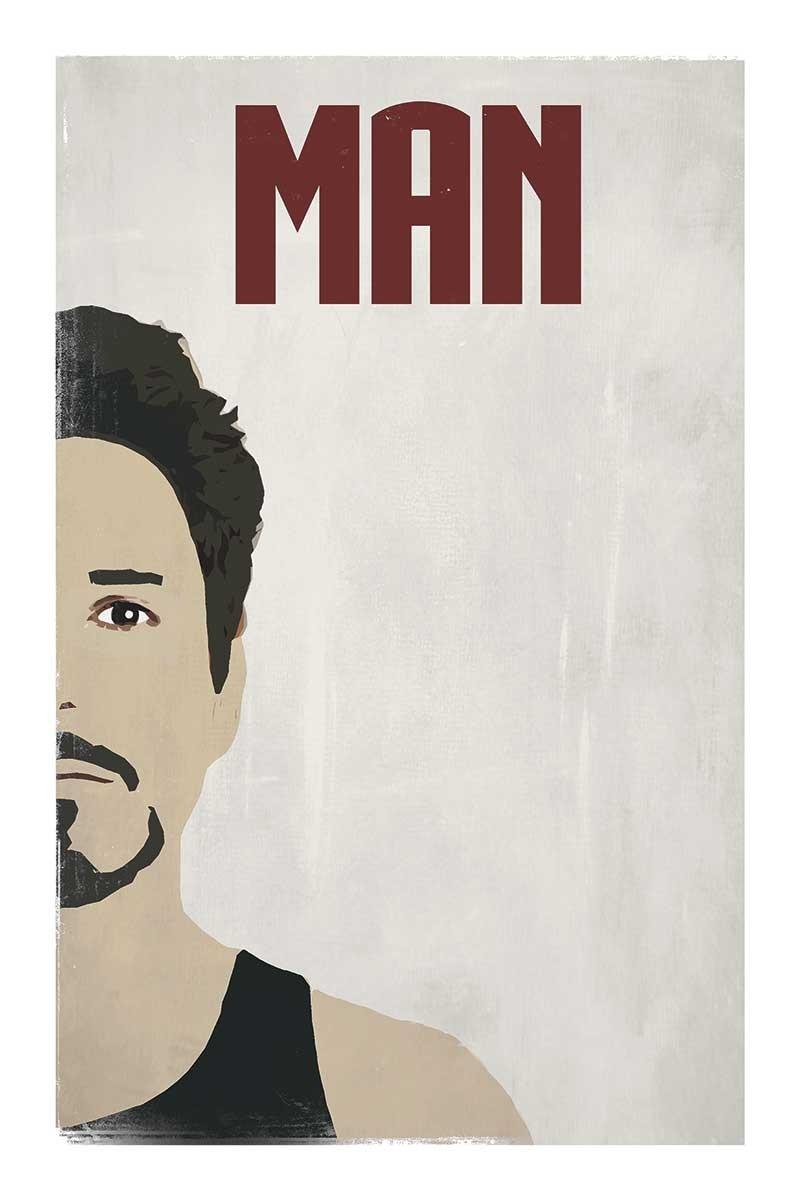 Man Face Split
