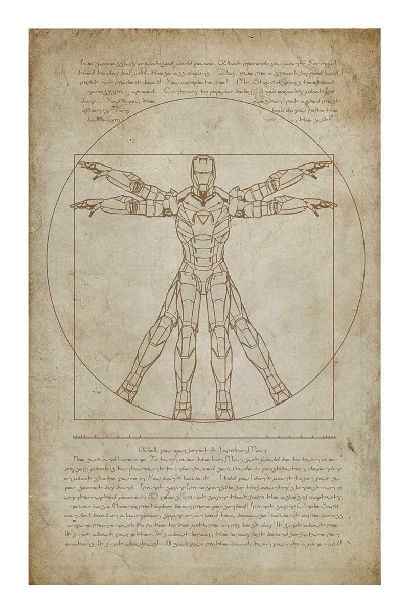 Iron Man Vetruvian