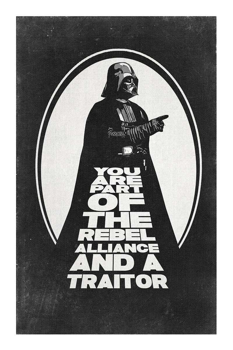Star Wars Vader Traitor