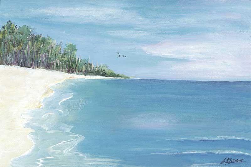 Deserted Beach I