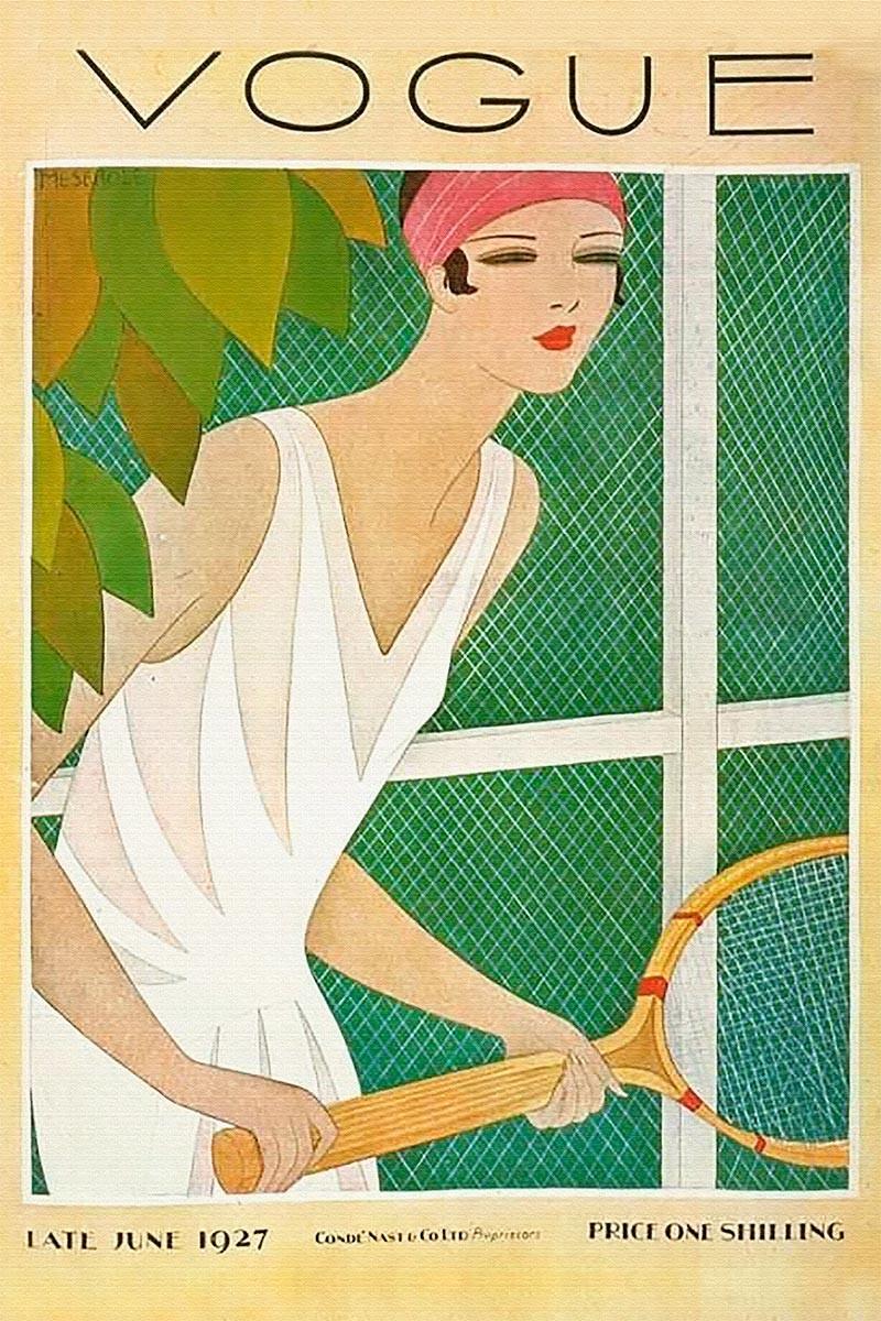 Vogue June 1927 Tenis