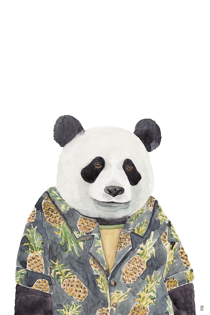 Hawaiian Panda